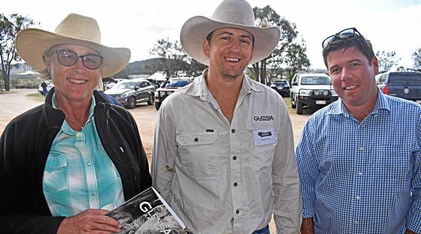 Helen Alexander, Aaron Wise and Matt Galvin.