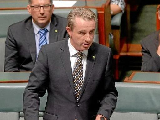 Kevin Hogan MP .addresses parliament