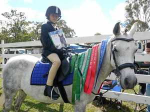 Blackbutt girl wins trophy for third year in a row