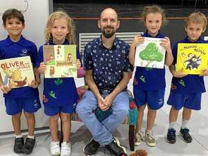 Children's author illustrates how to be creative