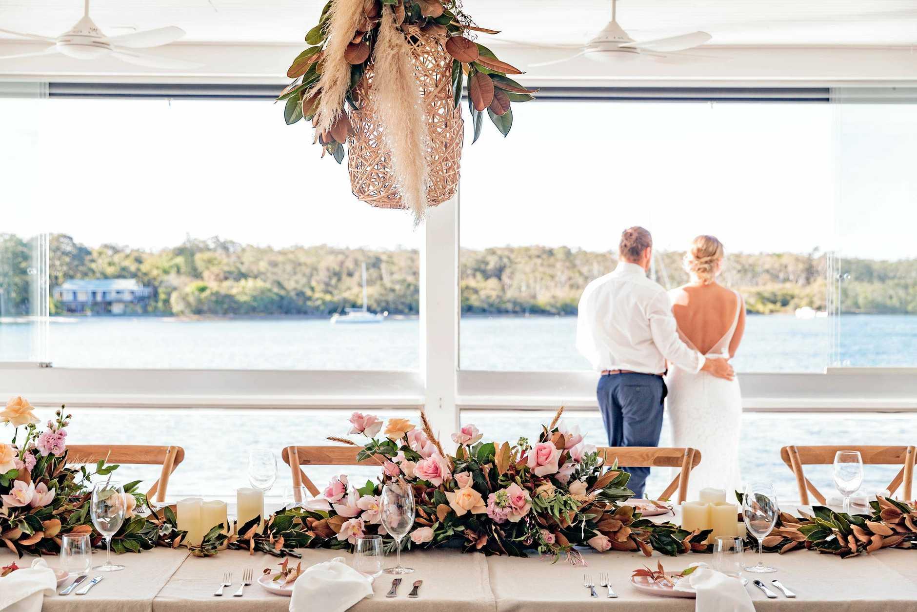 Wedding on Noosa Boathouse
