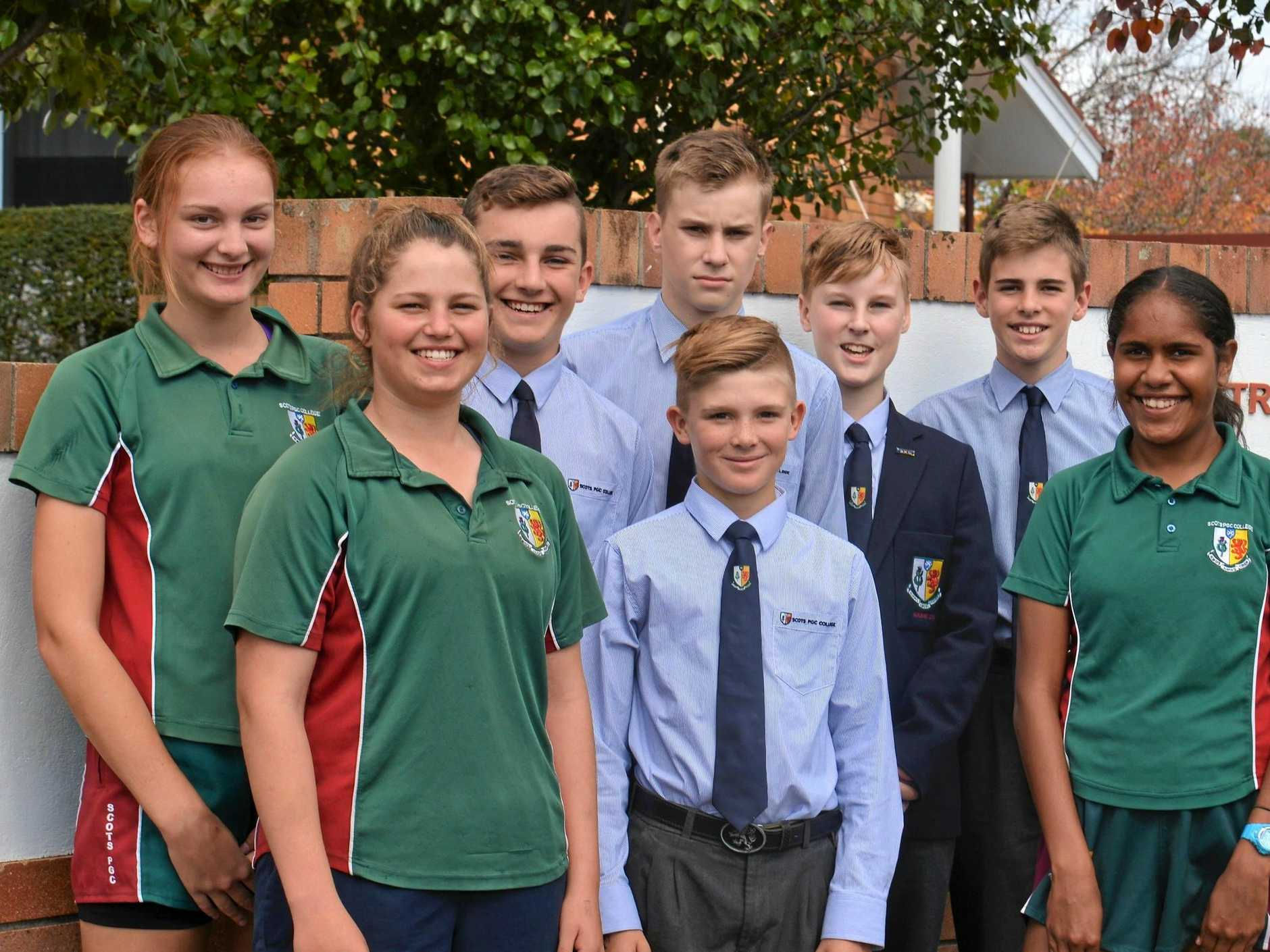 Children from Scots PGC college Warwick