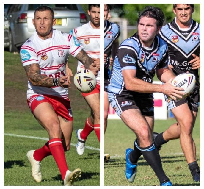 Todd Carney and Jamie Lyon are set to go head to head in the NRRRL.