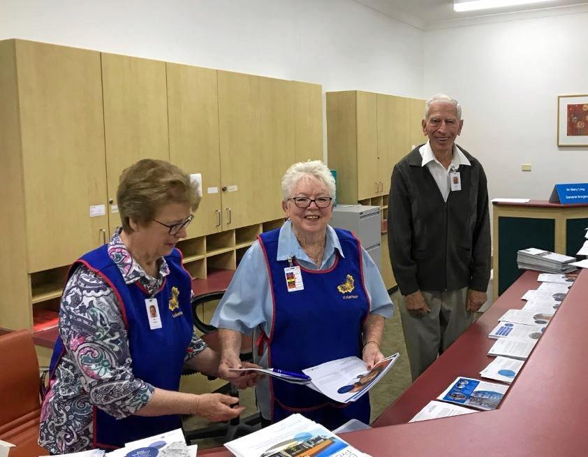 Volunteering at Brisbane Waters Private Hospital brings a sense of belonging.