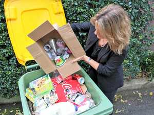 Resident rubbishes region's recycling system