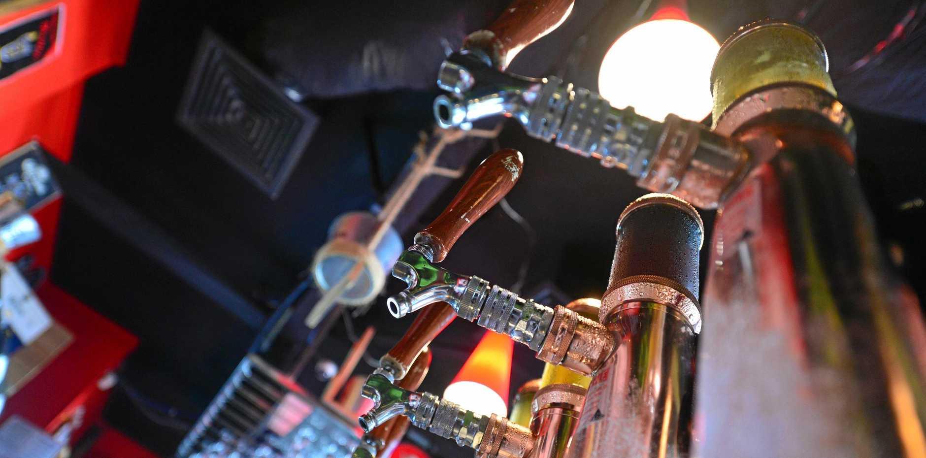 Generic beer taps.