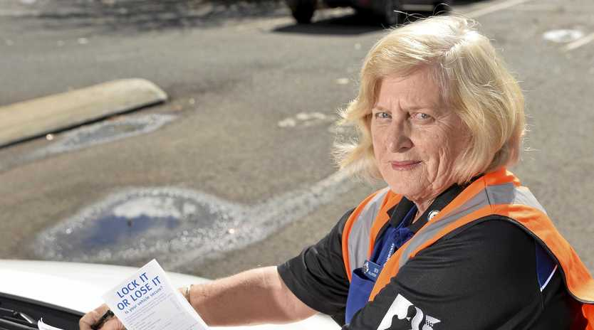 BIG HELP: QPS Volunteer in Policing program member Desley Steger says the service brings much-needed comfort to the victims of crime and helps to steer at-risk groups away from offending.