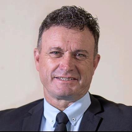 United Australia Party candidate Hamish Mitchell.