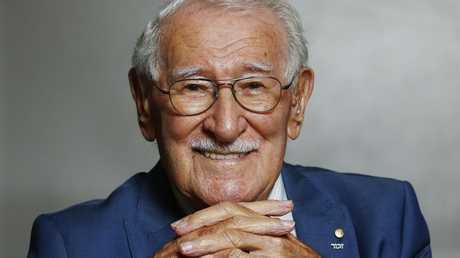 Holocaust survivor Eddie Jaku says anti-Semitism in Australia 'frightens' him. Picture: John Appleyard