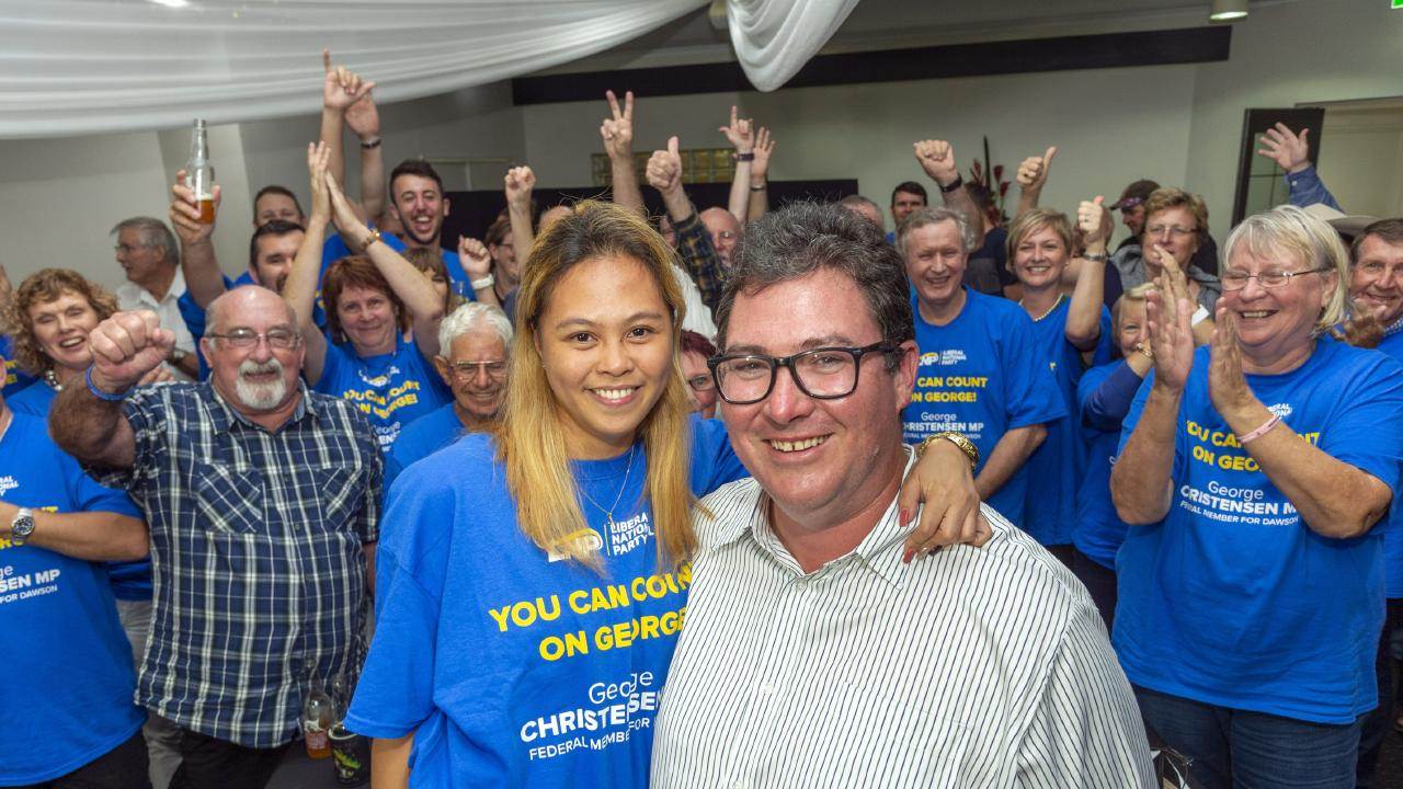LNP George Christensen says the LNPs strong election result in Queensland gives it a mandate to demand a coal-fired power station to be underwritten in Collinsville. Picture: Daryl Wright