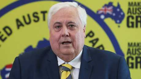 Clive Palmer was absent from court as his lawyers were lambasted by a judge overseeing Queensland Nickel's liquidation trial.