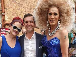 'Traitor': Drag queen trolled for appearing with gay LNP MP
