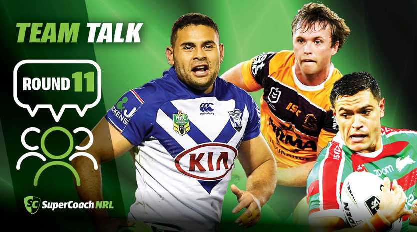 The NRL round-11 team list has been announced.