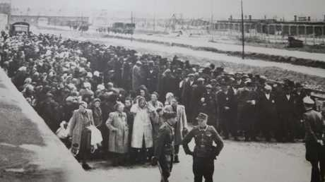 Thousands died within days of the Auschwitz 'death march' beginning. Picture: Sydney Jewish Museum