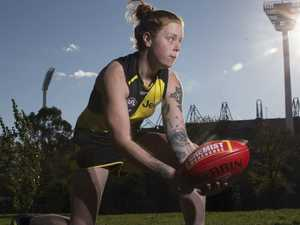 Bank robbery to AFLW Tiger: Stahl's incredible story