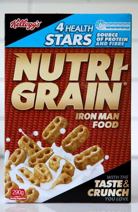 Nutri-Grain is marketed as a healthy choice, but is it? Picture: Nathan Edwards