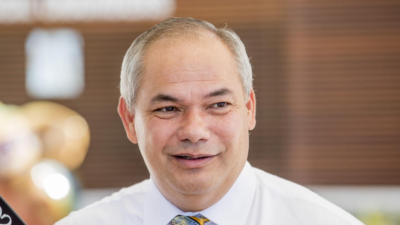 Gold Coast City Mayor Tom Tate is in China spruiking the city. Picture: Jerad Williams