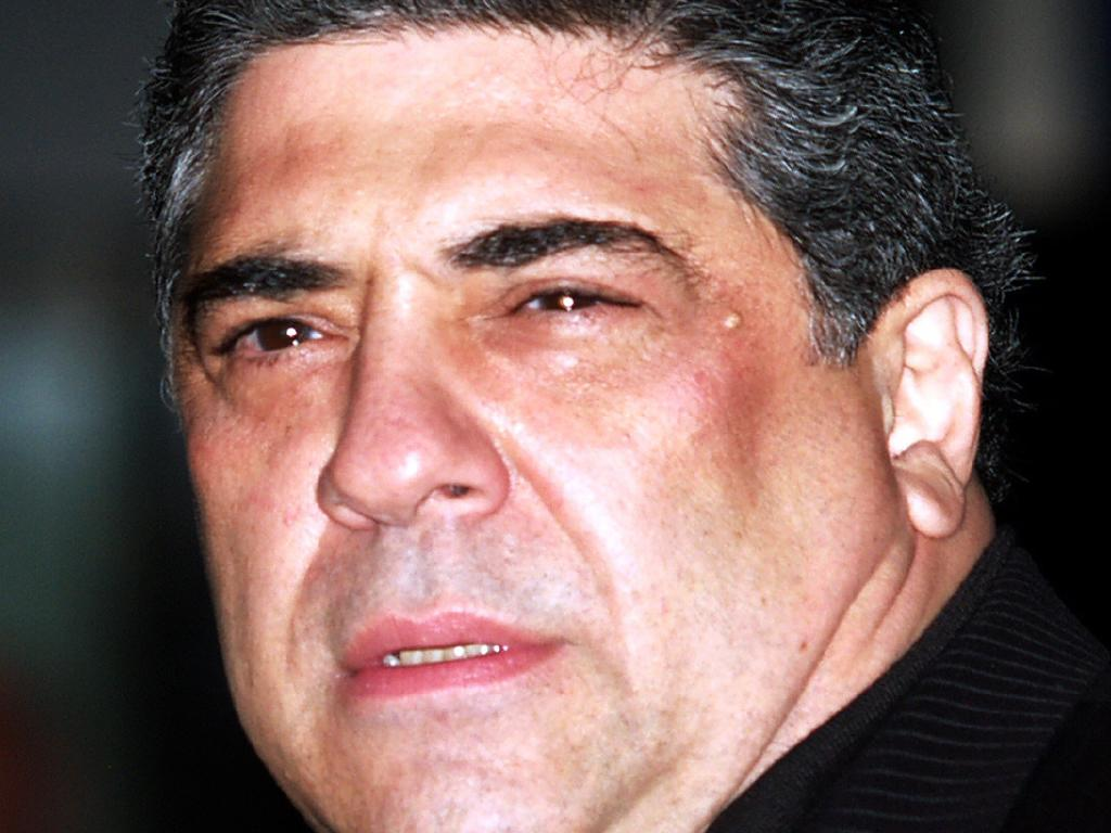 Actor Vincent Pastore, from The Sopranos, was also said to be a pal of DiRubba. Picture: Supplied