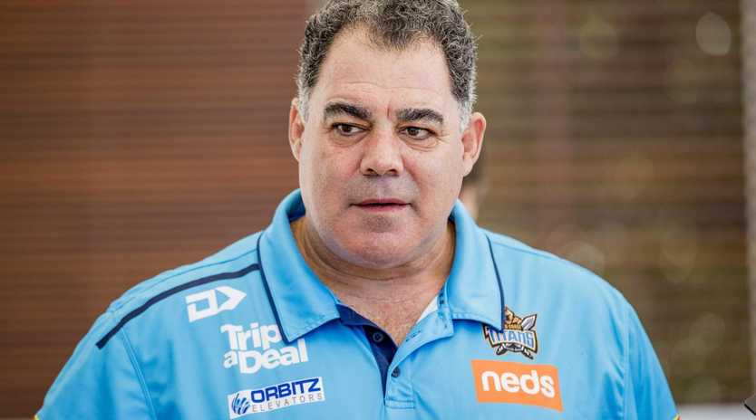 Meninga isn't part of the training team. Yet. Image: Jerad Williams