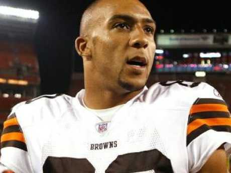 Kellen Winslow for the Cleveland Browns. Picture: Supplied