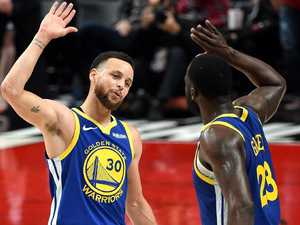 History-making Curry, Green get Warriors into NBA Finals