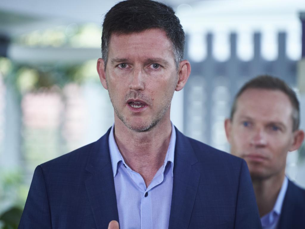 """Queensland Transport Minister Mark Bailey: """"... The voters are always right and there's lessons there for Labor that we are already looking at and examining."""" Picture: AAP Image/Aaron Bunch"""