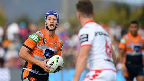 Kalyn Ponga has been in stunning form for Newcastle. Picture: Dan Himbrechts/AAP
