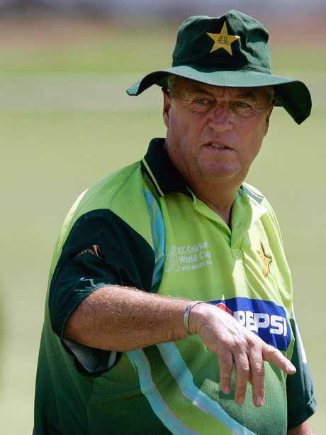 Cricket coach Bob Woolmer, who died in Jamaica in 2007.