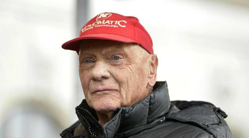 Austrian former Formula One driver Niki Lauda left his mark on the sport.