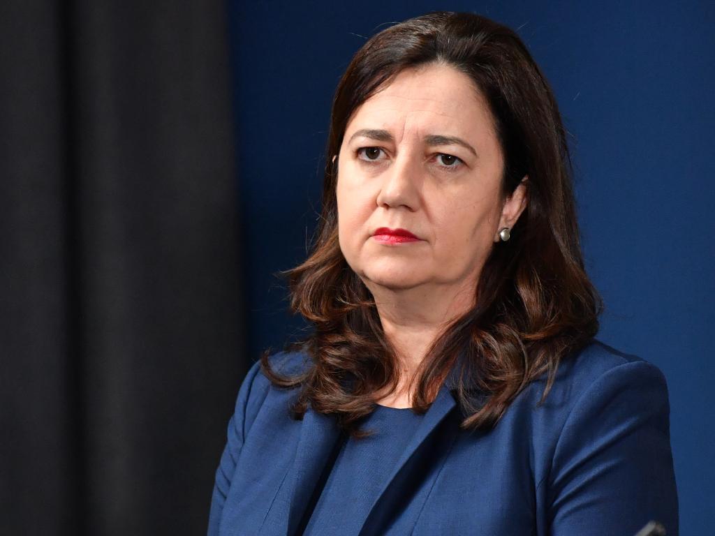 Queensland Premier Annastacia Palaszczuk. Picture: AAP/Darren England