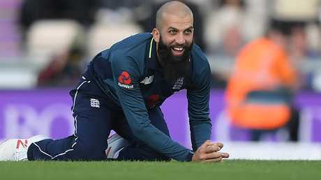 Moeen Ali has warned The Barmy Army to not get personal in their sledging from the stands. Picture: Alex Davidson/Getty Images