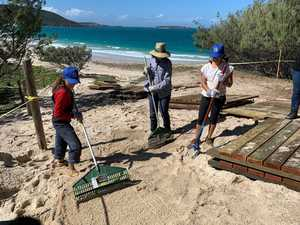 Great Keppel Island restoration project