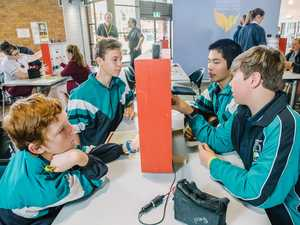 GALLERY: Dalby school dominates first day of STEM challenge