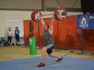 Hefty totals for lifters at qualifying competition