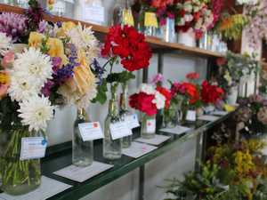 Flower entries at the 2019 Miles Show