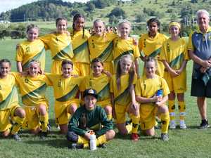 The North Coast team competing at the New South Wales
