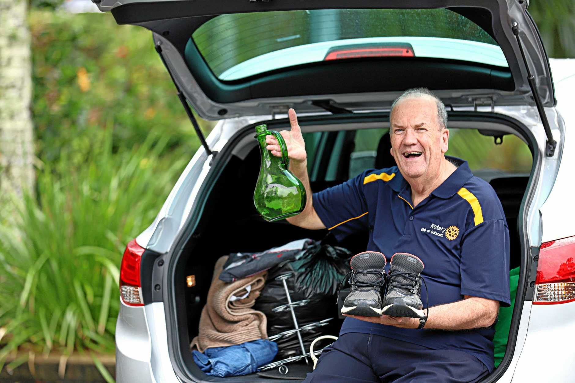 CASH CAR: Rotary Club Caloundra's first car boot sale to raise money for community projects will be held Saturday, June 1 in the Caloundra Salvation Army car park.