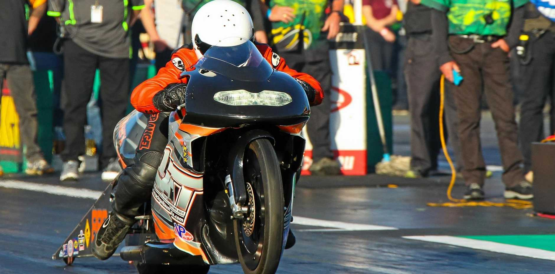 Ipswich drag racer Luke Crowley will be among the record-breaking competitors at next month's Winternationals at Willowbank Raceway.