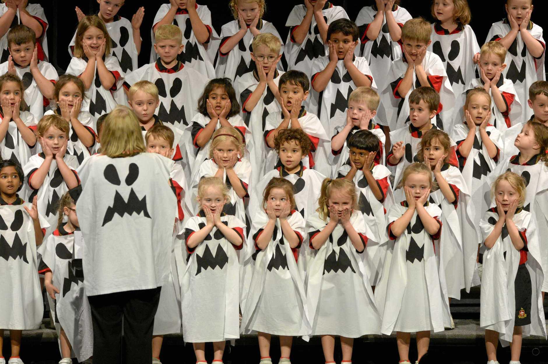 Rockhampton Grammar School in Section 211 - Primary School Freestyle Novelty Choir Prep-3 (Graff Family perpetual trophy)