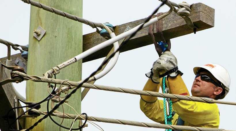 Essential Energy crews are working to restore power in Lismore.