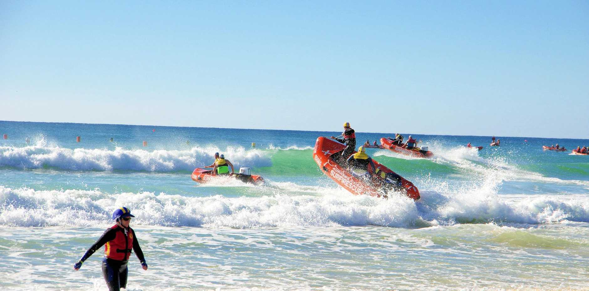 COMPETITION HEATS UP: One of the teams competing in the IRB Ocean Roar on June 1-2.