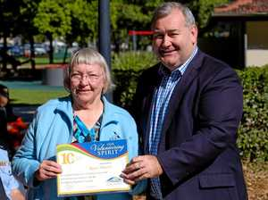 Volunteers recognised for service