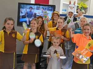 Maracas shake to beat for National Simultaneous Storytime