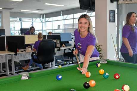 Huddle employee and member onboarding specialist Kierra Wilkinson.