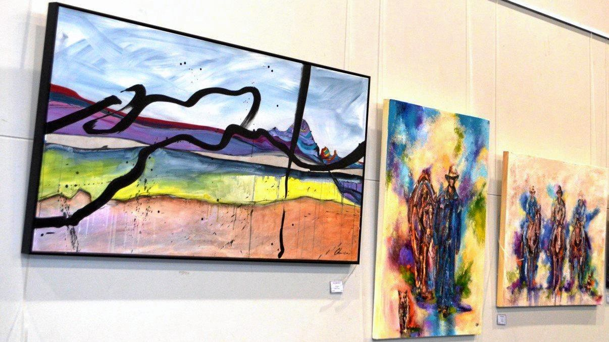 Entries in this year's Immanuel Arts Festival.