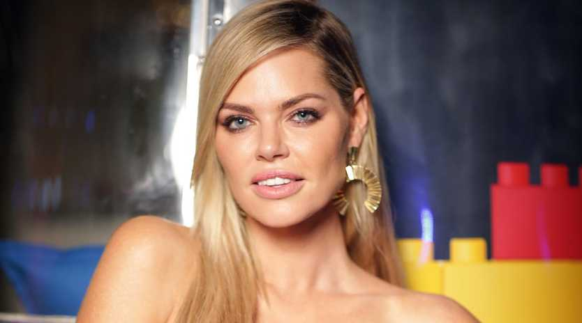Sophie Monk took a cheeky swipe at a former bandmate. Picture: Christian Gilles