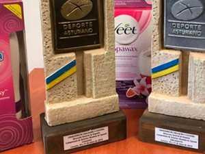 'Degrading': female squash champs awarded vibrators