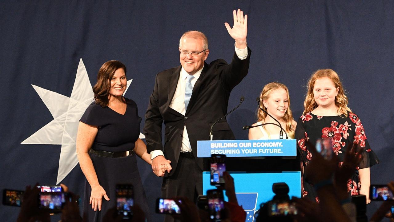 Australia's newly elected Prime Minister Scott Morrison.