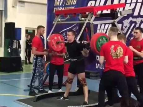 Yaroslav Radoshkevich's career may now be over.