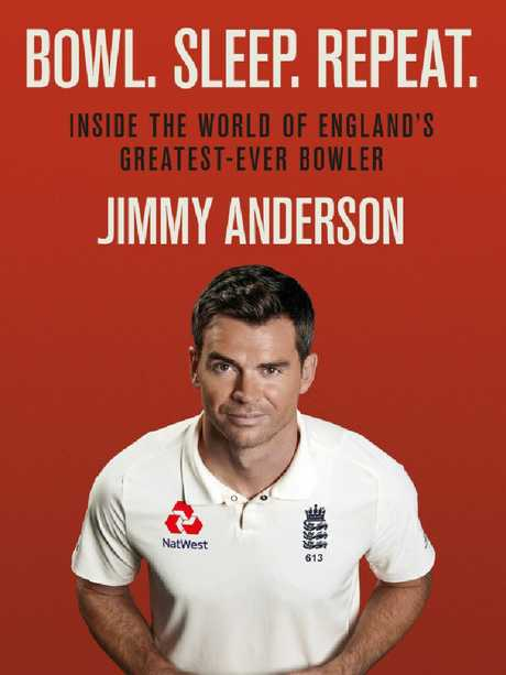 The cover of Jimmy Anderson's new book.
